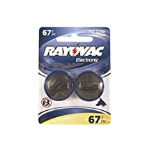 2 x RFA-67 Rayovac PetSafe Compatible Fence & Dog Collar Batteries (1 Card of 2)