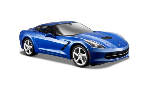 Maisto 1:24 Scale 2014 Corvette Stingray Coupe Diecast Vehicle (Colors May - 24 Coupe Scale Corvette