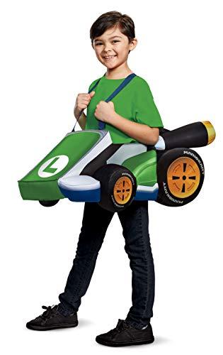 Waluigi Costume - Disguise Luigi Kart Super Mario Bros