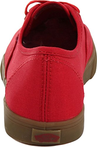 Vans Lo Red Authentic Womens US Trainers 8 Pro Classic EOrqO