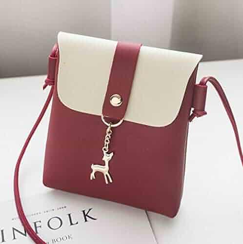 03f7cd32dee2 Shopping 4 Stars & Up - Reds - Crossbody Bags - Handbags & Wallets ...