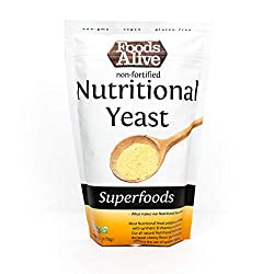 Foods Alive Nutritional Yeast Flakes | Non-Fortified, Plant Based Protein, Vegan Cheese Powder Substitute, Versatile…