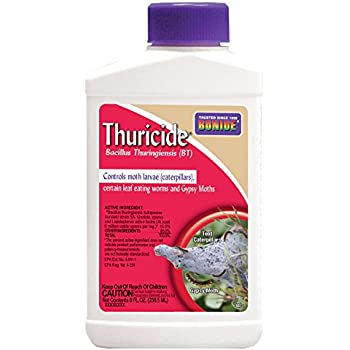 Bonide Chemical 802 Bacillus Thuricide Liquid, 8-Ounce