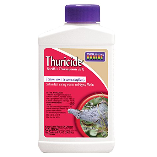 Bonide Chemical 802 Bacillus Thuricide Liquid, 8-Ounce