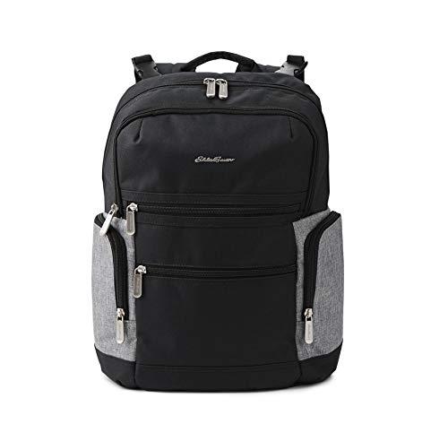 Eddie Bauer Field Diaper Backpack, Black/Grey