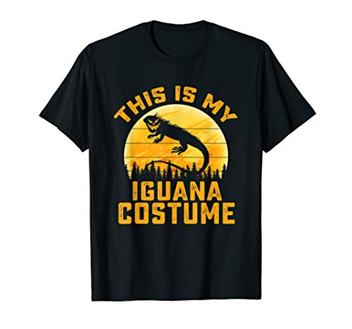 This Is My Iguana Costume Halloween Gifts Men Women Kids T-Shirt