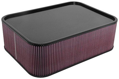 K & N KN100 - 8566 Carbon Fiber Air Box Large: