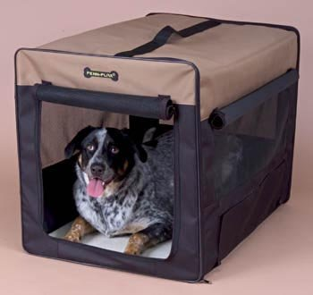 Penn-Plax DOGH2 Home and Away Crate 18Wx21Hx25D Small Medium