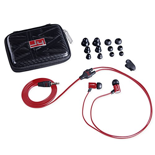 JLab JBuds J4 Heavy Bass Metal In-Ear Earbuds with Travel Case