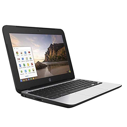 HP Chromebook 11 G3 11.6-inch Intel Celeron N2840 Google Chrome OS Notebook Laptop (Renewed) (4GB Ram   16GB SSD)