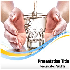 Amazon Com Save Water Powerpoint Template Save Water Powerpoint