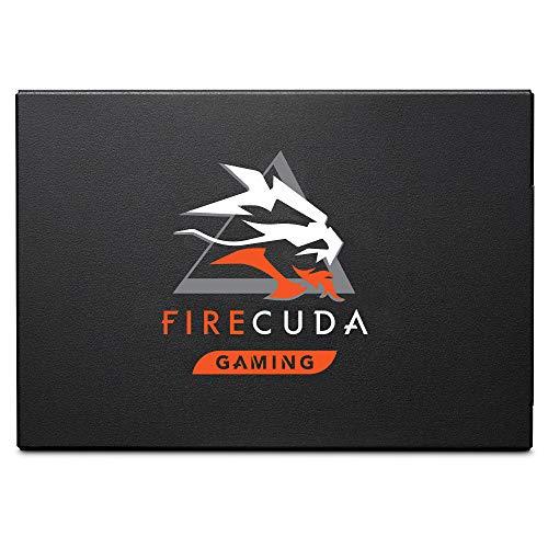 Seagate FireCuda 120 SSD 2TB Internal Solid State Drive – SATA 6Gb/s 3D TLC for Gaming PC Laptop (ZA2000GM10001)
