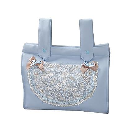 Babyline Caramelo - Bolso panera para silla de paseo, color azul