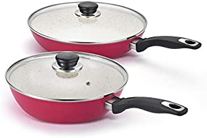 10''&11'' Nonstick Frying Pan With No Toxic Diamond