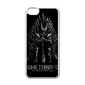 iPhone 5c Cell Phone Case White Game of Thrones Gasq