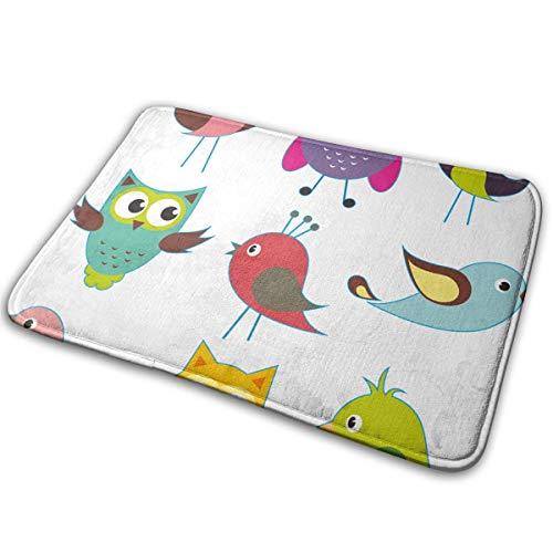 FunnyCustom Doormat Kit Stickers Personalized Non Slip Water Absorption Floor Mats for Doorway]()