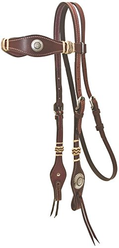Cowboy Pro Scalloped Headstall with ()