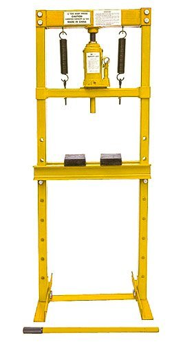 ducts 81515 Hydraulic Shop Press 12-Ton ()