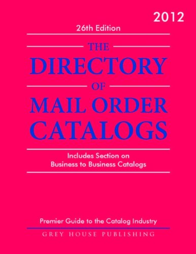 Mail Order Catalog - Directory of Mail Order Catalogs 2012