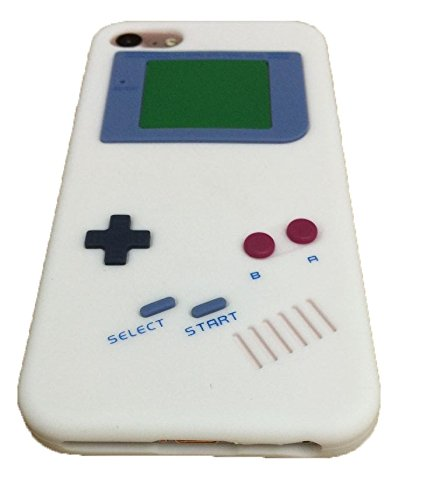iPhone 7 Case,Newstore Retro Design 3D Game Boy Gameboy Style Soft Silicone Cover Case For Apple iPhone 7 7G 4.7 inch With A Free Packing With ...