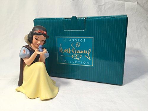 WDCC Disney Snow White Won't You Smile For Me Figurine