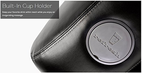 iJoy-2580 Premium Robotic Massage Chair | Cup Holder | Auxiliary Power Outlet | Full Recline | Black Color Option by Human Touch (Image #4)