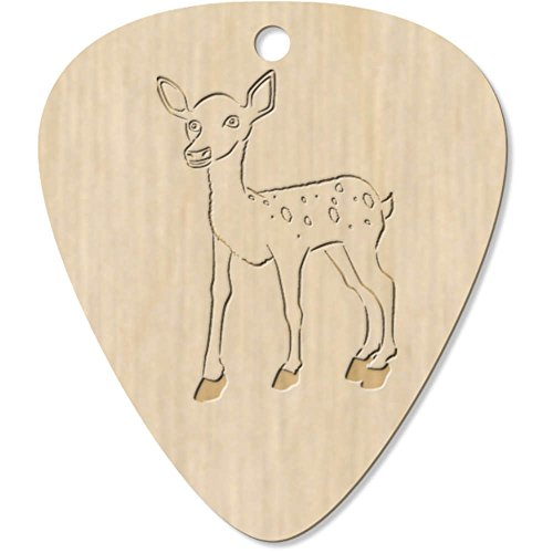 Azeeda 7 x 'Baby Deer (Fawn)' Guitar Picks / Pendants (GP00002726)