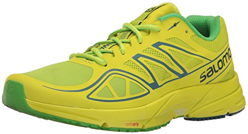 Price comparison product image Salomon Men's Sonic Aero, Lime Green/Lime Punch/Classic Green, 10.5 D(M) US