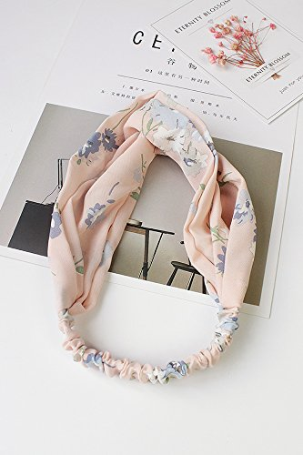 Generic Chinese wind lovely Beautiful retro school simple small fresh floral print wash hair bands hair accessories hair bands