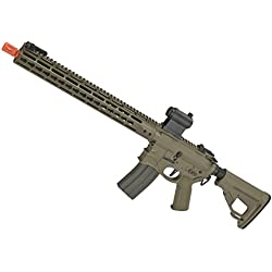 "Evike EMG Hellbreaker Licensed Full Metal Advanced M4 15"" Carbine Airsoft AEG Rifle (Desert) - (59869)"