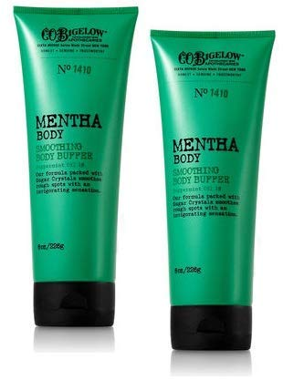 C.O. Bigelow 2 Pack Mentha Smoothing Body Buffer. 8 Oz