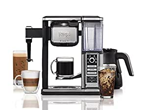 Ninja Coffee Bar Brewer System with Glass Carafe (Certified Refurbished)