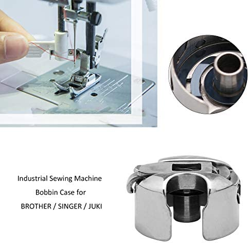INDUSTRIAL SEWING MACHINE BOBBIN CASE FITS LOTS OF BROTHER//SINGER//JUKI//WIMSEW +