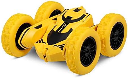 HLKJ RC Cars, 2,4 GHz De Control Remoto Stunt Car, En El Terreno ...