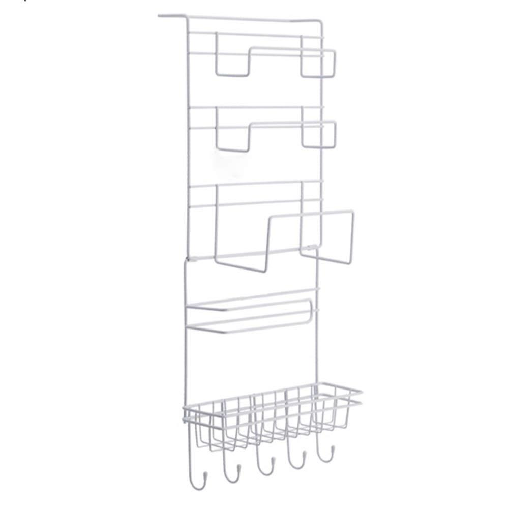 YJLGRYF Storage Shelf 5 Layer Kitchen Shelves Refrigerator Side Shelf Rack , Kitchen Racks Multilayer Cupboard Wardrobe Kitchen Organiser Storage Rack