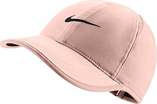 Nike Women's Feather Light Adjustable Hat (Crimson Tint, OneSize) by NIKE