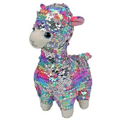 FLIPPABLES Ty Beanie Boo Lola Sequin Llama: Toys & Games