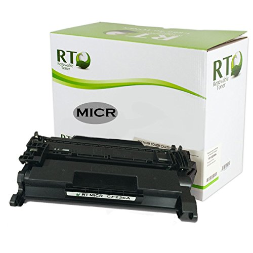 Renewable Toner 26A Compatible MICR Toner Cartridge Replacement HP CF226A for HP LaserJet Pro M402 M426 MFP Printer Series