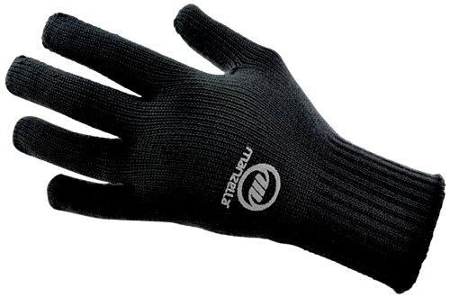 Manzella Liner Glove - Manzella TSU-40 Glove, Black, Medium/Large
