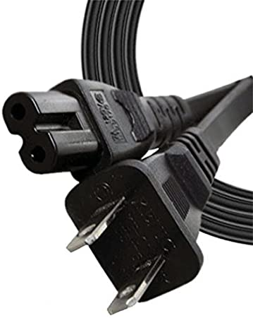 UL Listed iMBAPrice 6 Feet 2-Prong AC Power Cable Cord for Vizio Smart TV//Led//LCD TV//4K//TV//E-Series//M-Series
