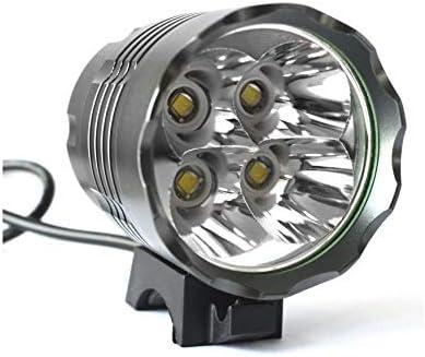 RYMEBIKES Foco LED Bicicleta 4800 LM / 6400MAH / Waterproof - Luz ...