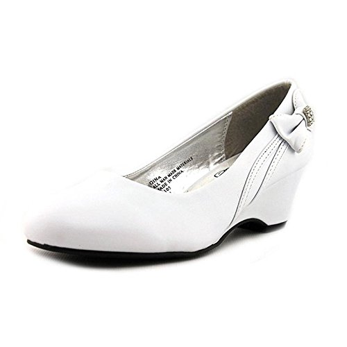 Swea Pea & Lilli Girl's Wedge Shoe White -
