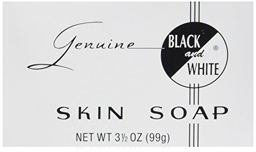 Black and White Skin Soap, 3.5 Ounce