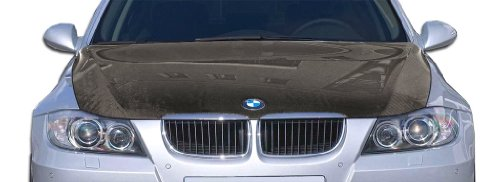 2006-2008 BMW 3 Series E90 4DR Carbon Creations OEM Hood - 1 Piece 4dr Oem Carbon Fiber Hood