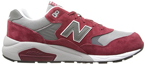 New Balance, Sneaker uomo Multicolore multicolore Burgundy/Grey