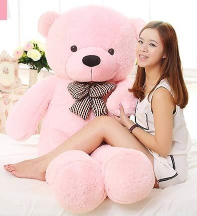 Buttercup Soft Toys Medium Very Soft Lovable/Huggable Teddy Bear for Girlfriend/Birthday Gift/Boy/Girl - 3 Feet (91 cm, Pink) (B07VMY5MW9) Amazon Price History, Amazon Price Tracker