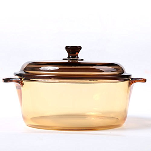 Luminarc Vitro 2 0L Round Stewpot With Glass Cover By Enduraglass  Incredibly Durable And Safe For The Dishwasher  Freezer  Microwave  Oven  Broiler   Stovetop