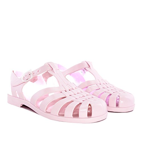 Andres Machado AM188.UNISEX.Plastic Water Sandals.Small, Medium & Large sizes: UK 0.5 to 13/EU 32 to 48. Pink