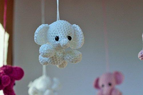 Elefanten Mobile Gehäkelt Amazonde Handmade