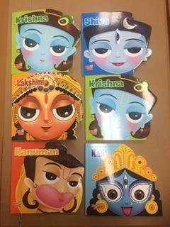 Kali, Lakshmi , Saraswati , Hanuman , Krishna & Shiva-Set of 6 Books